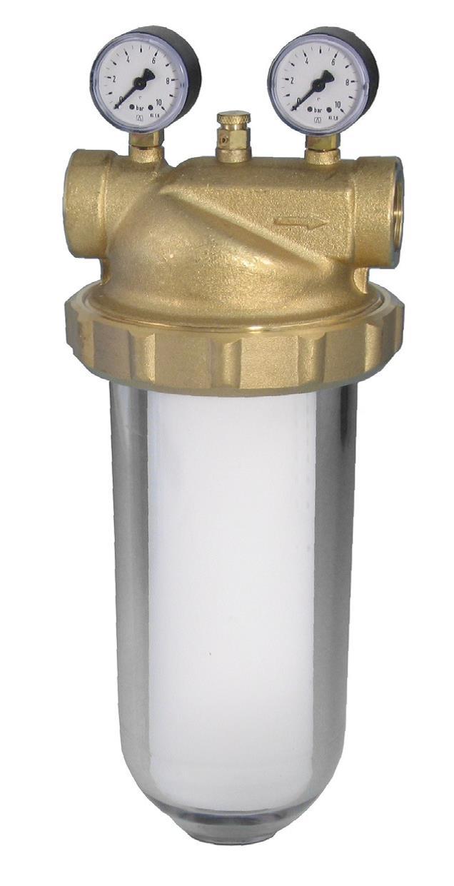 Wasserfilter mit DVGW Zulassung